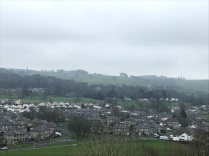 Kendal castle view2